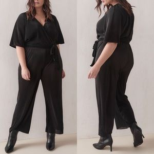 ADDITION ELLE Wide-Leg Maxi Jumpsuit